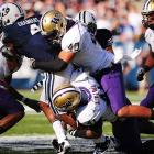 Foster is coming off a career campaign,  leading the Huskies with 151 tackles, almost twice the number he registered as a  junior.   His 11 tackles for loss  is also noteworthy.   Foster is aggressive  against the run and sacrifices his body to stop opposing ball handlers.   His skills defending the pass are also NFL  caliber.     3 rd /4 th  Round  Prospect