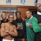 Rondo's career took a drastic turn during the summer before his second season as the Celtics acquired veterans Kevin Garnett and Ray Allen and shipped off guards Delonte West and Sebastian Telfair. Celtics' GM Danny Ainge refused to include Rondo in any trade, feeling he was too talented.