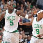 Rondo formed a quick bond with power forward Kevin Garnett as the Celtics raced to a 26-3 record in the first two months of the season.