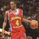 Rondo was born in in Louisville, Ky., and attended Eastern High, where he played under coach Doug Bibby. He transferred to Chicago's Oak Hill Academy, where he averaged 21 points, three rebounds and 12 assists per game. He also played in the 2004 McDonald's All-America game with other top high school talent.