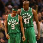 In February 2011, the Celtics traded Kendrick Perkins and Nate Robinson to Oklahoma City in exchange for Jeff Green and Nenad Kristic. The trade hit Rondo hard as Perkins was his best friend on the team. After struggling in the weeks after the trade, Rondo found his groove again in the first round of the playoffs and got a triple-double in Game 3 against the Knicks.