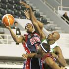 In 2005, Rondo played for the USA Men's Under-21 World Championship Team. The point guard averaged 11 points and five assists per game in the eight-game tournament.