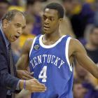 Despite his success at Kentucky, Rondo often clashed with coach Tubby Smith, who wanted Rondo to play a more controlled style of point guard.