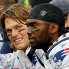 Brady's hair took center stage in September after Randy Moss' trade to Minnesota. According to CBS' Charlie Casserly, Moss and Brady had a heated argument during which Brady told his receiver to shave his beard. Moss responded that Brady should cut his hair because he looks like a girl.