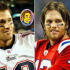 Brady appeared in animated form on The Simpsons in 2005. Through the magic of Photoshop, we were able to create an animated version of what the QB would look like if he were on the show today.