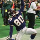 After three productive seasons as a Philadelphia Eagle, marred by off-field drug problems, Carter turned his career around, starting in 1990 with a new opportunity with the Vikings. During a five year stretch beginning in 1995, Carter scored 55 touchdowns. He finished the '95 season with 17 touchdown catches, tied for fifth all-time. Consecutive seasons of 122 receptions in '94 and '95 are the fourth most in a single season. He retired with 130 touchdowns, good for fourth best in NFL history.