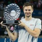 def. Andy Roddick, 6-3, 7-5 ATP World Tour 500, Hard, $372,500 Brisbane, Australia
