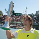 def. David Nalbandian, 6-3, 6-3 ATP World Tour 250, Hard, $355,500 Auckland, New Zealand