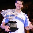 def. Andy Murray, 6-4, 6-2, 6-3 Grand Slam, Hard, $11,414,950 Melbourne, Australia
