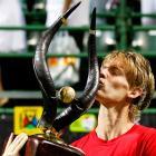 def. Somdev Devvarman, 4-6, 6-3, 6-2 ATP World Tour 250, Hard, $442,500 Johannesburg, South Africa