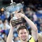 def. Marin Cilic, 6-7 (8), 6-3, 6-3 ATP World Tour 250, Hard (Indoor), €512,750 Marseille, France