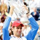 def. Rafael Nadal, 4-6, 6-3, 6-2 ATP World Tour Masters 1000, Hard, $3,645,000 Indian Wells, Calif.