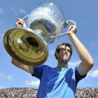 def. Jo-Wilfried Tsonga, 6-2, 6-2 ATP World Tour 250, Grass, €627,700 London, U.K.