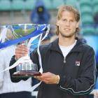 def. Janko Tipsarevic, 7-6 (5), 3-6, 5-3 (ret.) ATP World Tour 250, Grass, €410,925 Eastbourne, U.K.