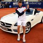 def. Pablo Andujar 6-4, 6-0 ATP World Tour 250, Clay, €398,250  Stuttgart, Germany