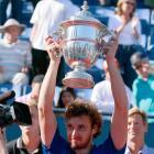 def. Mardy Fish, 5-7, 6-4, 6-4 ATP World Tour 250, Hard, $619,500 Los Angeles