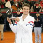 def. Nicolas Almagro, 6-4, 4-6, 6-4 ATP World Tour 500, Clay, €1,000,000 Hamburg, Germany