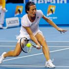 The clock finally stopped at 4 hours, 44 minutes, when Francesca Schiavone defeated Svetlana Kuznetsova 6-4, 1-6, 16-14 in a fourth-round thriller that set the record for longest women's Grand Slam match in the Open era. Schiavone saved six match points in a three-hour final set before pushing a forehand volley to settle the match.