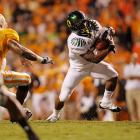 In his return to the team following a one-game suspension, LaMichael James proved  his value.  Stymied by a tough Vols defense during the first half,  he  broke through early in the second half with a 72-yard touchdown that tied the game. Sparked by James' brilliance, Oregon rattled off 35 unanswered points to down Tennessee 48-13.