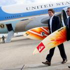 The secret service is well-equipped to go anywhere in any way to keep tabs on the prez...