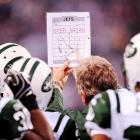 """Strategy session: Special teams coach Mike Westhoff showed his guys where strength coach Sal """"Day Tripper"""" Alosi would be standing during the Jets' kickoff to the Colts in their AFC wild-card playoff game in Indianapolis."""