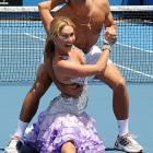 Looks like Dancing With the Stars is a great way to court a hernia, as Mr. Djokovic the tennis ace discovered during his ballroom lesson at the Australian Open.