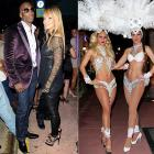Evelyn Lozada, the Bengal wideout (that's Mr. Johnson, to you), and two birds of a feather did up his birthday in style at Mansion nightclub in Miami Beach on Jan. 20.