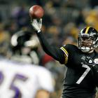 Roethlisberger came through with 226 passing yards -- including a dramatic 58-yard pass to rookie Antonio Brown on third-and-19 -- to help the Steelers advance to the AFC Championship Game.