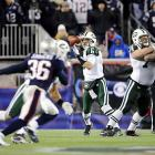 Sanchez completed 16-of-25 passes for 194 yards and touchdowns to LaDainian Tomlinson, Braylon Edwards and Santonio Holmes. Now Sanchez gets a chance to beat another one of the league's best quarterbacks for the third straight week when he faces Ben Roethslisberger after knocking off Peyton Manning and Tom Brady.