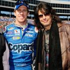 """""""Carl Edwards- he is such a great guy, very sincere. And he really hears me when I say to him... Just go fast!"""""""