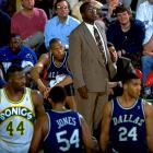 The Mavs barely escaped the league's futility record in 1992-93 (they finished 11-71). And when Quinn Buckner took over as coach in 1993-94, things weren't much better: A team featuring Jim Jackson and Jamal Mashburn finished 13-69 with a 20-game skid.