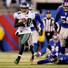 """Sometimes, the X-factor is the obvious one. The Eagles have big-time weapons all over the field, including Michael Vick, LeSean McCoy and Jeremy Maclin. But just ask the Giants ... or ask anyone who has held their breath whenever the ball winds up in Jackson's hands. He's a bolt of lightning. Sure, he can hurt his own team with celebration antics or other bad moments, but that's all part of the """"X-factor."""" You won't know exactly how he will affect the game, or if it will be in a good way or a bad way. But Jackson definitely will have an impact."""