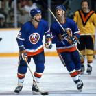 """Two of six Sutters to play in the NHL, Duane (who was nicknamed """"Dog"""" for his yapping) and younger brother Brent (""""Pup"""") were both first-round picks, hard-nosed workers and key contributors to the Isles' four Stanley Cup championship teams. Brent, who spent 17 seasons in the NHL, led Brian, Darryl, Duane, Rich and Ron in career goals, with 303. (A seventh brother, Gary, is said to have been the most talented, but he opted not to pursue a hockey career.)"""