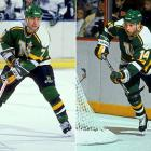 A member of the 1980 U.S. Olympic miracle team, Neal became one of the greatest American-born NHL players of all time. Drafted in the third round by the North Stars in 1979, he was the first American to score 100 points in an NHL season (1985-86). In 1990, he was reunited with younger brother Aaron with whom he'd played on the same line at the University of Minnesota. Neal also played with younger brother, Paul (inset), for two seasons on the Dallas Stars (1993-95).