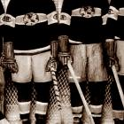 Hall of Fame defenseman Sprague was infamous for being meaner than cat dirt, but his younger brother Odie, a skilled winger, wasn't afraid to use his stick for more than moving and shooting the puck. In 1924, the Cleghorns helped win the Canadiens' first Stanley Cup as a member of the National Hockey League, which had come into being in 1917.
