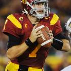 Despite the NCAA bowl ban facing USC during Matt Barkley's junior season, the quarterback still found success in Los Angeles. Barkley decided on Dec. 23 to return to USC for his senior year with hopes of fulfilling his dreams of bringing a championship to the men of Troy. Barkley led Lane Kiffin and the Trojans to a 10-2 record and a No. 5 ranking in the AP poll in 2011.