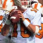Though Manning earned his degree in three years and was regarded as one of the nation's top quarterbacks, he returned to Knoxville for his senior season. He led the Vols to an appearance in the Orange Bowl, won numerous individual awards and was the first overall selection in the 1998 draft.