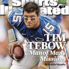 "Tebow had dazzled players, coaches, and fans for three years at the Florida. In 2008, he was fresh off of leading the Gators to their second national championship in three years. At the team's celebration, in front of over 40,000 fans, Tebow finished a speech with one more dramatic shocker for his onlookers: ""Oh, by the way, let's do it again. I'm coming back."" Tebow totaled 533 yards in the 2010 Sugar Bowl, a BCS record, and was a first round draft pick."