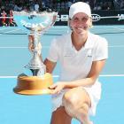 def. Yanina Wickmayer, 6-3, 6-3 WTA International, Hard (Outdoor), $220,000 Auckland, New Zealand