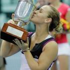 def. Kaia Kanepi 3-6, 7-6 (1), 7-5 WTA Premier, Hard (Indoors), $721,000 Moscow