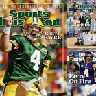 By the end of the 2010 season, one in which injuries ended his consecutive starts streak, Brett Favre and his impending retirement (this time for good) had become a non-story. He was the first player to win three consecutive MVP awards, and led Green Bay to two Super Bowls, including a win in XXXI in 1997. At the end of his career, he played one season for the New York Jets and two for the Minnesota Vikings, highlighted by an NFC Championship appearance in 2009.