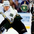 Modano retired after 21 seasons in the NHL.  He has 561 goals and 1,374 points, leading U.S.-born players in the league, over 20 seasons with the Dallas-Minnesota franchise and one season with his hometown Detroit Red Wings. The North Stars selected the native of Livonia, Mich., No. 1 overall in 1988. Following the franchise's move to Dallas, he helped the Stars hoist the Stanley Cup in 1999.