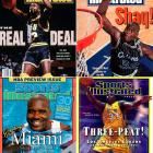 """The Big Aristotle always did things his own way, so it shouldn't be surprising that he announced his retirement via Twitter and not through a press release or news conference. The always """"quotatious"""" center won four NBA titles during his 19-year career. He teamed with Kobe Bryant to take three straight championships in Los Angeles, and then added another title with the Dwyane Wade and the Heat. O'Neal battled injuries throughout his career, especially in the past few years, but when healthy and in his prime, he dominated games. His 28,596 points are the fifth-most in league history."""
