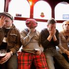 From the looks of these poor souls at the Dunblane Hotel in Scotland, things did not go well for the hometown hero during his Australian Open men's final match with Novak Djokovic.