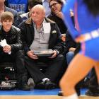 The teen pop heartthrob did not exactly set the hearts of Knicks fans to throbbing when he was shown on the Madison Square Garden Jumbotron during the team's tilt with Dallas on Feb. 2. The Biebs was serenaded by a lusty chorus of hoots, jeers, boos and assorted catcalls.