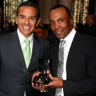 We hear the boxing legend was on hand at the gala opening ceremony of African American Heritage Month in Los Angeles to announce his forthcoming bout against Mayor Antonio Villaraigosa, who seems to know nothing about it.