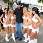 The Miami Dolphins cheerleaders added some sugar and spice to the 99.9 Kiss Country Chili Cook Off in Pembroke Pines, Florida.