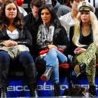 The Nets may not be much to look at, but courtside at the Prudential Center is always an eyeful.