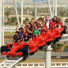 Supercar, indeed. The abundance of backseat drivers surely makes for lively strategizing under race conditions. And that's quite the revolutionary track they've got there at Ferrari World in Abu Dhabi, where the circuit's season opened this week.