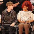 The Biebs demonstrated how to enchant the ladies at the NBA All-Star Game in LA's fabulous Staples Center.